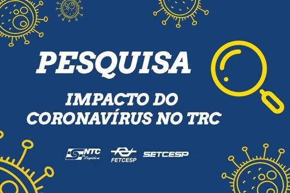 Impacto do coronavírus no transporte de cargas chega a 26% segundo dados do DECOPE